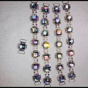 Crystal bunking connector set